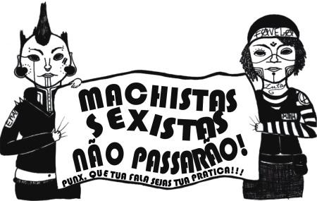 machistas sexistas não passarão